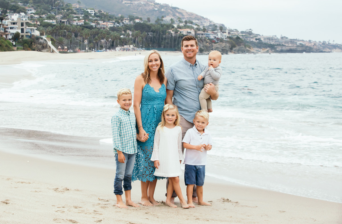los angeles family portrait karen french photography